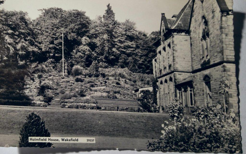 Holmfield House rockery